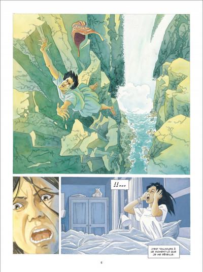 Page 4 L'ombre Inca tome 1 - L'Offrande