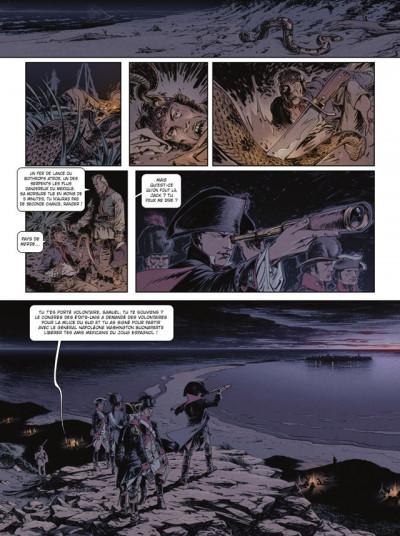 Page 1 Jour J tome 17 - Napoléon Washington