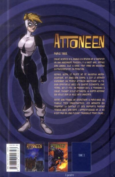 Dos Attoneen tome 1 - Alien intérieur