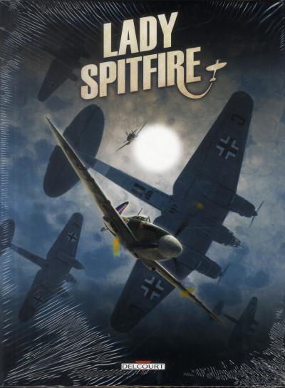 Couverture Lady Spitfire - COFFRET T.1 A T.3