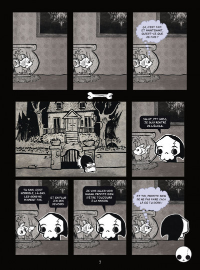 Page 3 La petite mort tome 1