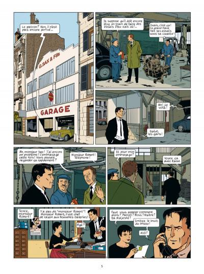 Page 3 Robert Sax tome 1 - Nucléon 58