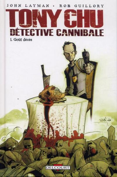 Couverture Tony Chu, détective cannibale tome 1 (édition spéciale)