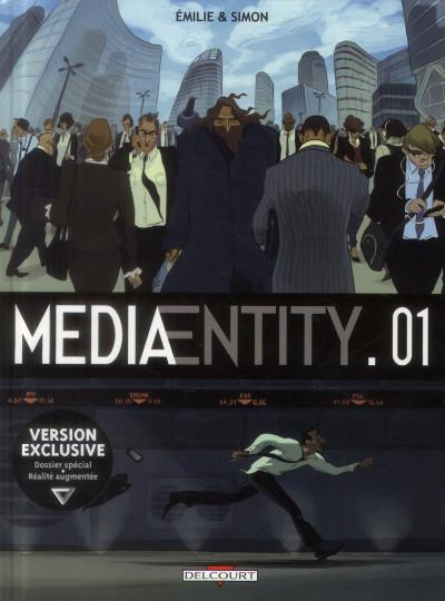 Couverture MediaEntity tome 1