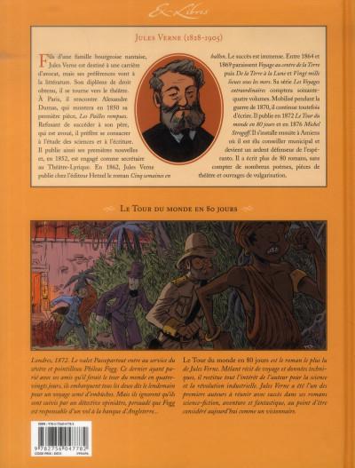 Dos le tour du monde en 80 jours, de Jules Verne ; intégrale