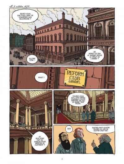 Page 1 le tour du monde en 80 jours, de Jules Verne ; intégrale