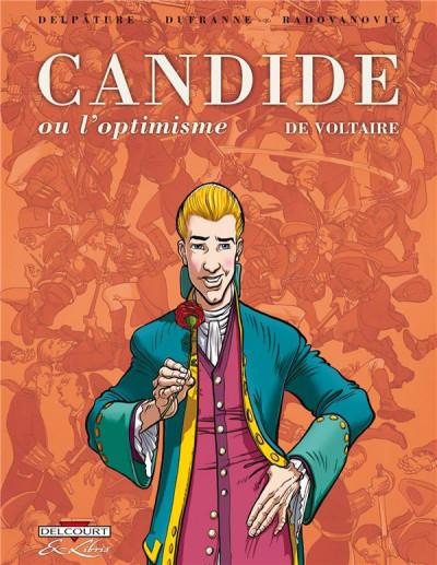image de Candide ou l'optimiste, de Voltaire - intégrale