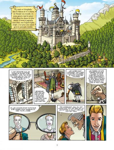 Page 1 Candide ou l'optimiste, de Voltaire - intégrale