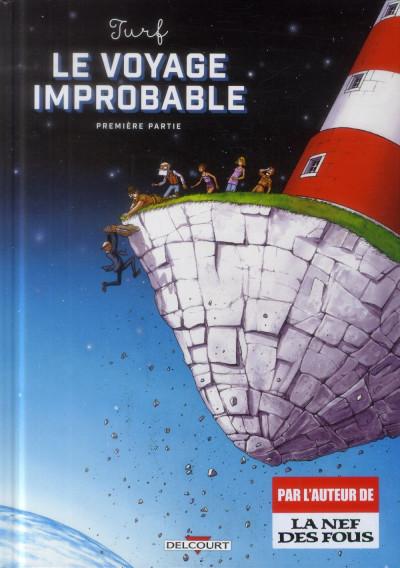 Couverture Le Voyage improbable tome 1