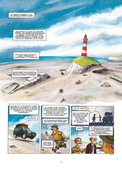 Page 1 Le Voyage improbable tome 1