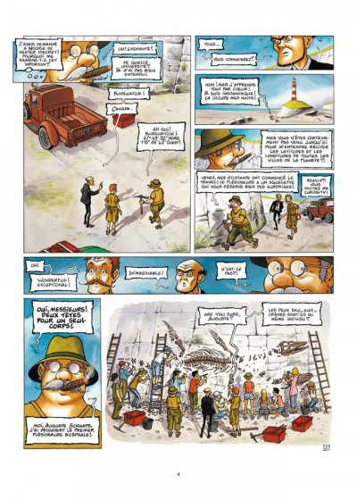 Page 2 Le Voyage improbable tome 1