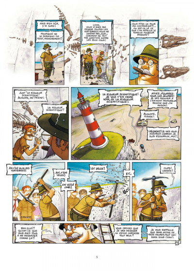 Page 3 Le Voyage improbable tome 1