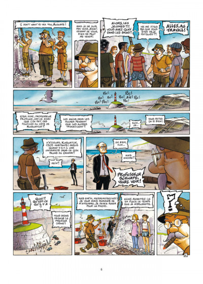 Page 4 Le Voyage improbable tome 1