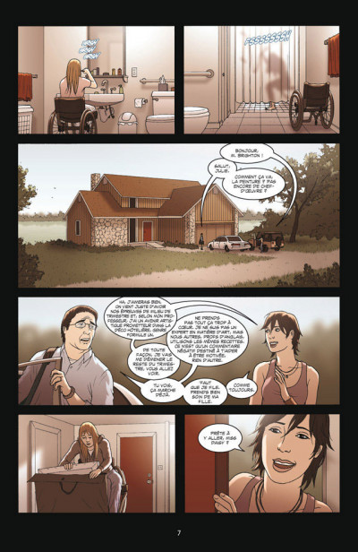 Page 3 The Sword Tome 1 - Le Feu