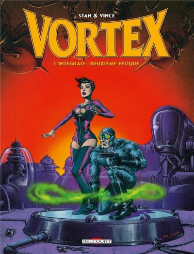Couverture Vortex - Intégrale 2ème époque
