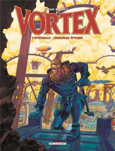 Couverture Vortex - Intégrale 3ème époque