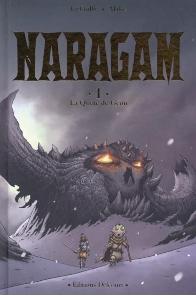 Couverture Naragam tome 1 - La quête de Geön