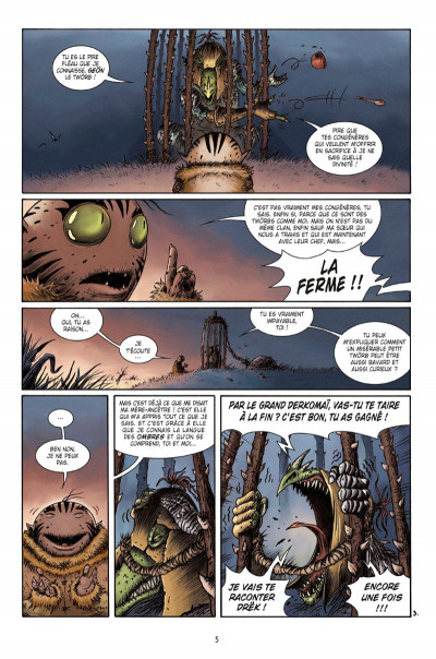Page 3 Naragam tome 1 - La quête de Geön
