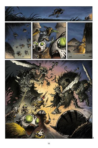 Page 8 Naragam tome 1 - La quête de Geön