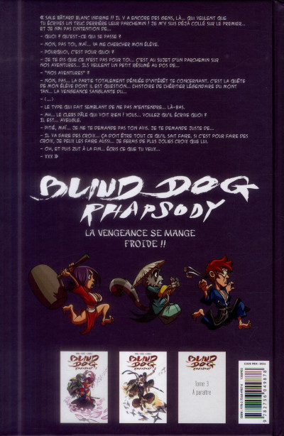 Dos Blind Dog Rhapsody tome 2