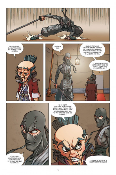 Page 3 Blind Dog Rhapsody tome 2