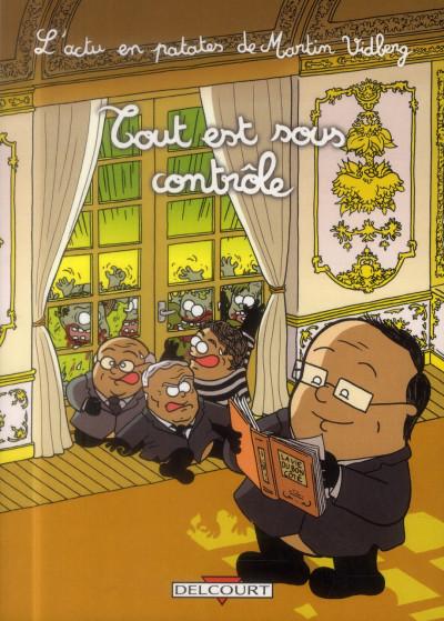 Couverture L'actu en patates tome 3 - Tout est sous contrôle