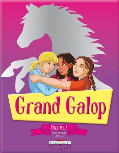 Couverture Grand galop - intégrale tome 1 à tome 3