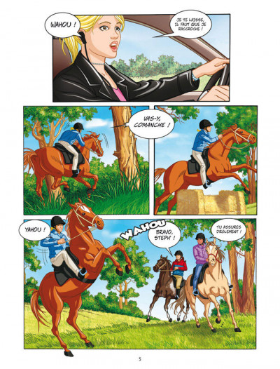 Page 3 Grand galop - intégrale tome 1 à tome 3