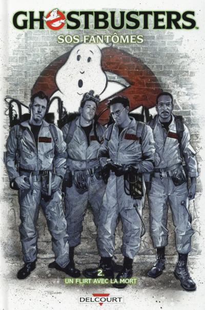 Couverture Ghostbusters tome 2 - Un flirt avec la mort