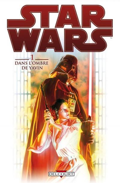 Couverture Star Wars tome 1 - dans l'ombre de Yavin