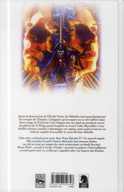 Dos Star Wars tome 1 - dans l'ombre de Yavin