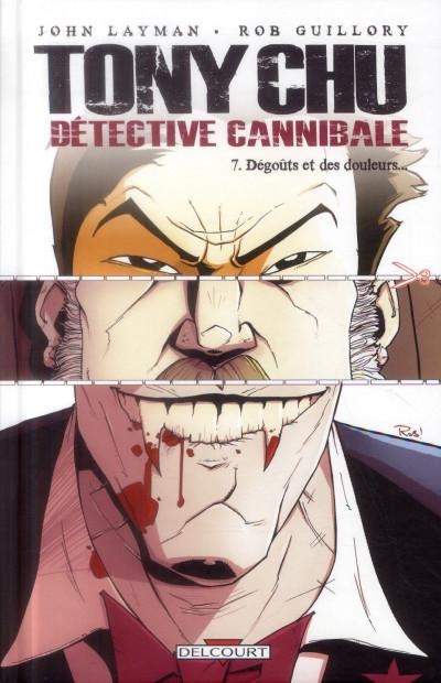 Couverture Tony Chu, détective cannibale tome 7