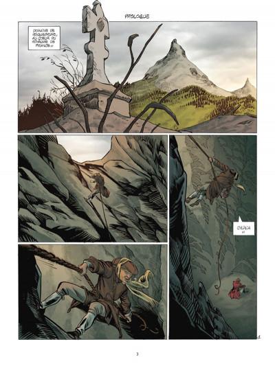 Page 1 Le Siècle des ombres tome 6 - Le Diable