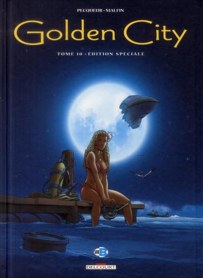 Couverture Golden city tome 10 - édition spéciale