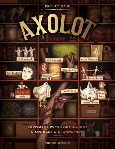 Couverture Axolot tome 1