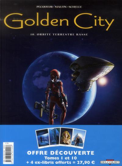 image de Pack Golden city tome 1 et tome 10 + ex-libris