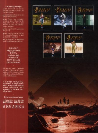 Dos L'histoire secrète tome 32 - apocalypto (coffret + cale)