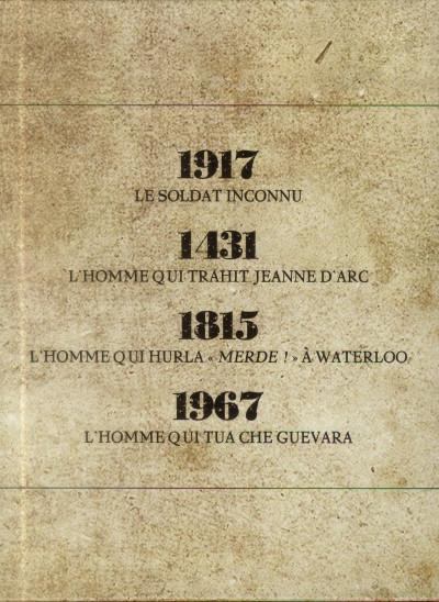 Dos l'homme de l'année tome 4 - 1967 - l'homme qui tua Che Guevara + Cale