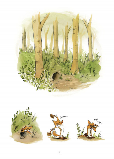 Page 1 Le grand méchant renard