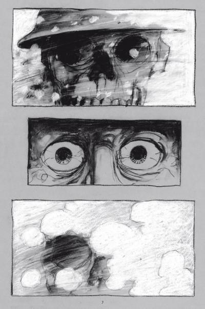 Page 3 La Mort blanche - Chronique de la der des ders
