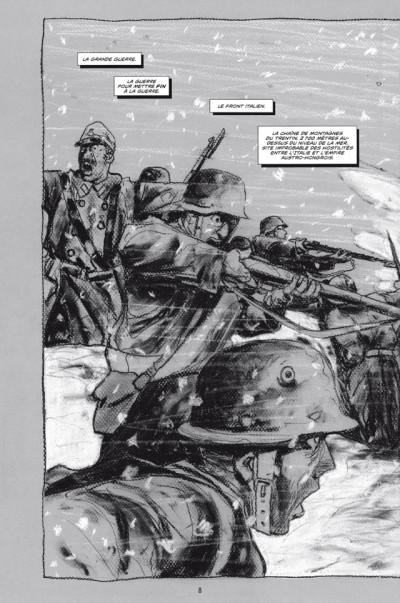 Page 4 La Mort blanche - Chronique de la der des ders