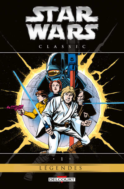 Couverture Star Wars - Classic Tome 1