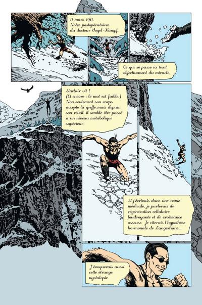 Page 4 L'Œil de la nuit tome 2 - Les Grandes Profondeurs