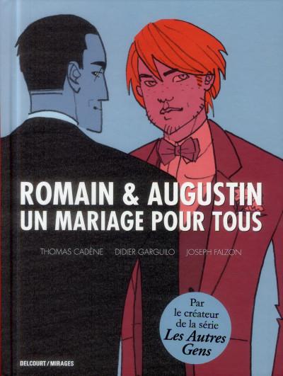 Couverture Romain & Augustin - un mariage pour tous