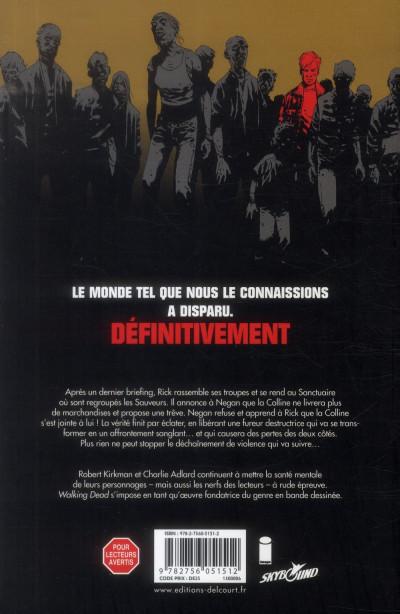 Dos Walking Dead tome 20 - Sur le sentier de la guerre