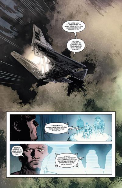 Page 1 Star Wars Legacy - Saison II Tome 1 - Terreur sur Carreras