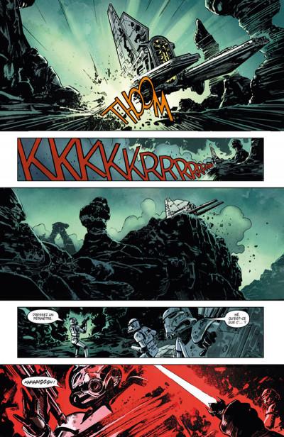 Page 4 Star Wars Legacy - Saison II Tome 1 - Terreur sur Carreras