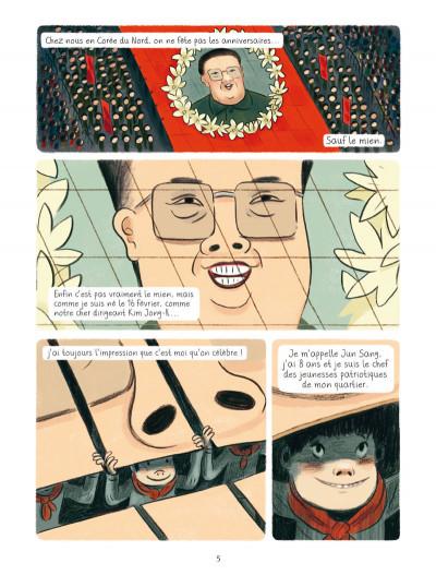 Page 1 L'anniversaire de Kim Jong-il