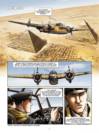 Page 1 Lady Spitfire tome 4 - Desert Air Force