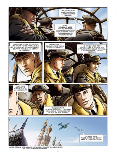 Page 2 Lady Spitfire tome 4 - Desert Air Force